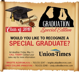 Would you Like to Recognize a Special Graduate?