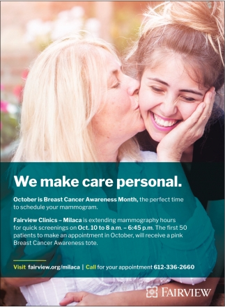 We Make Care Personal
