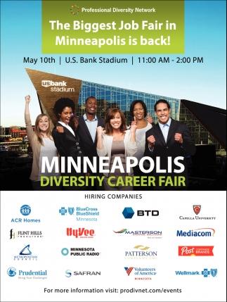 The Biggest Job Fair in Minneapolis is Back!