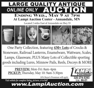 Large Quality Antique