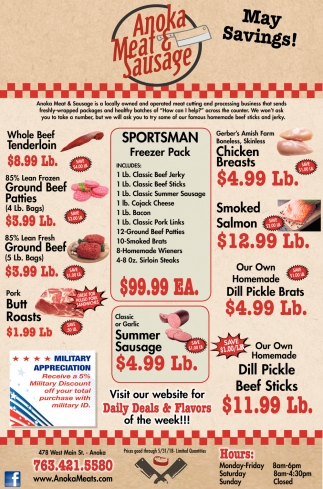 Anoka Meat & Sausages