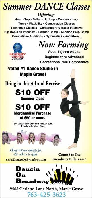 #1 Dance Studio in Maple Grove
