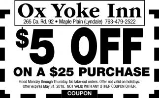 Ox Yoke inn Restaurant