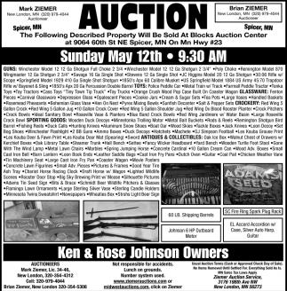Ken & Rose Johnson Owners