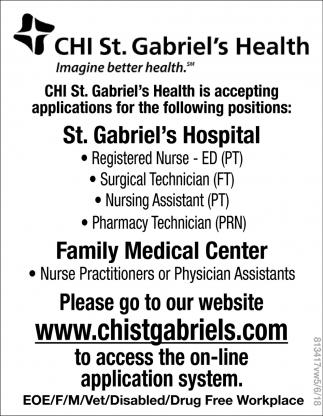 st. Gabriel's Hospital