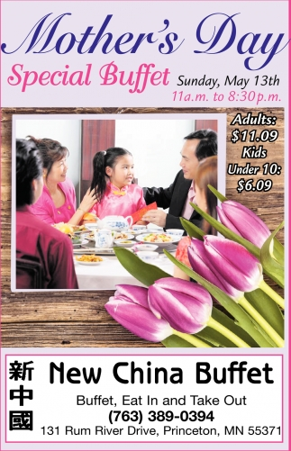 Mother's Day Special Buffet