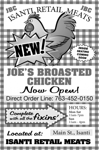 Joe's Broasted Chicken