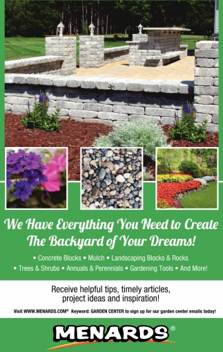 We Have Everything you Need to Create the Backyard of your Dreams!