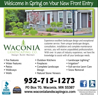 Welcome in Spring on your New Front Entry