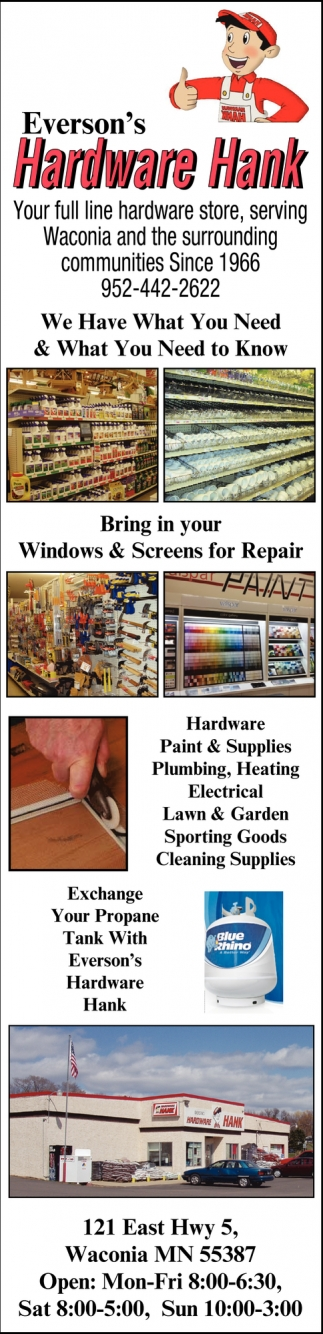 Your full line hardware store