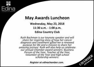May Awards Luncheon