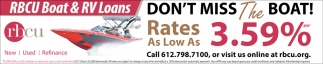 Rates as Low as 3.59%