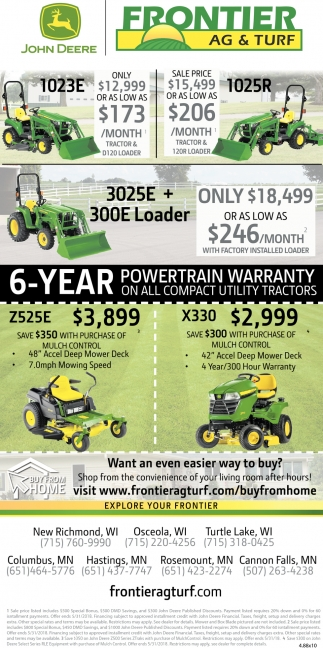6-Year Powertrain Warranty