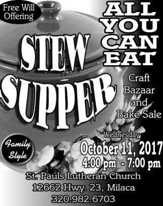 Stew Supper