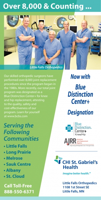 Now with Blue Distinction Center