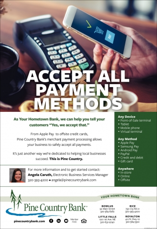 Accept All Payment Methods