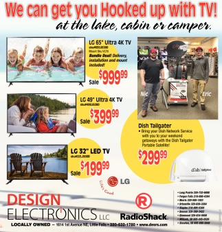 We Can Get You Hooked up with TV!