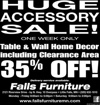 Huge Accessory Sale!
