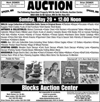 Blocks Auction Center