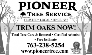 Total Tree care-Trimming, Removal, Planting