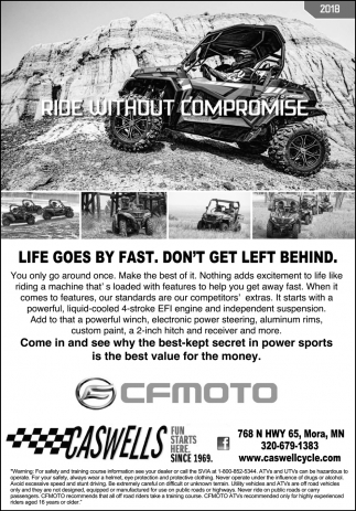 Ride Without Compromise
