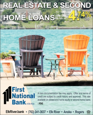 Real Estate & 2nd Home Loans