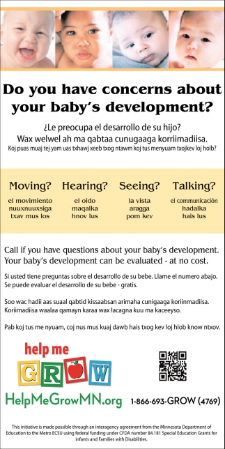 Do you Have Concerns About Your Baby's Development?