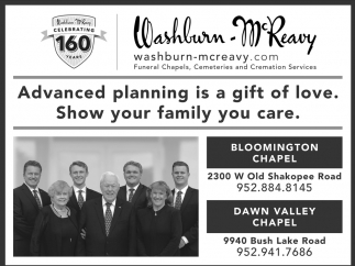 Washburn-McReavy - Bloomington Chapel & Dawn Valley Chapel