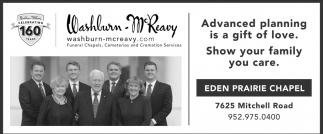 Washburn-McReavy - Eden Prairie Chapel