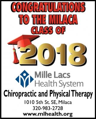Congratulations to the Milaca Class of 2018