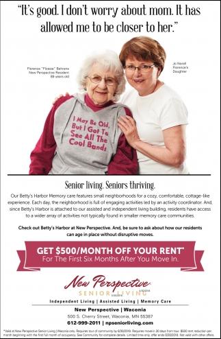 Senior Living, Seniors Thriving