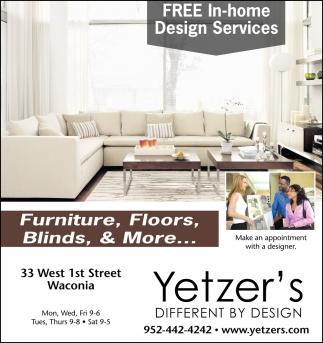 Furniture, Floors, blinds & More...
