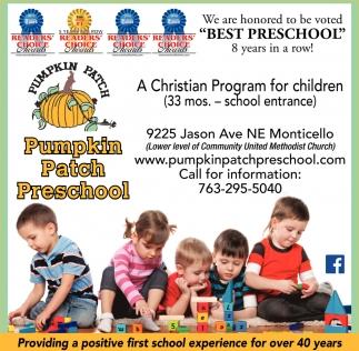 Pumpkin Patch Preschool