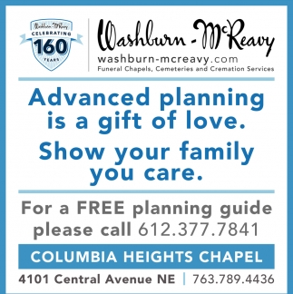 Washburn-McReavy - Columbia Heights Chapel