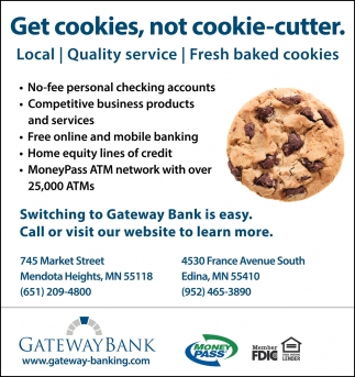 Get Cookies, not Cookie-Cutter
