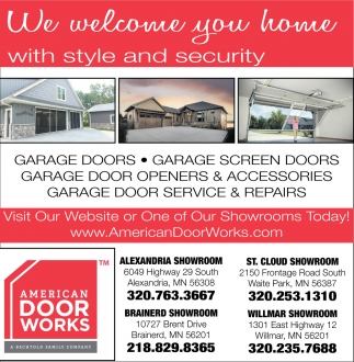 We Welcome You Home with Style and Security