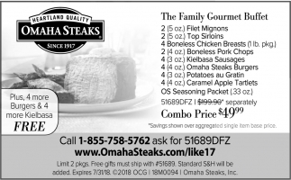 The Family Gourmet Buffet