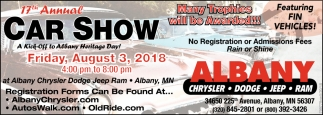17th Annual Car Show