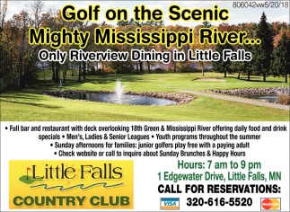 Golf on the Scenic Mighty Mississippi River