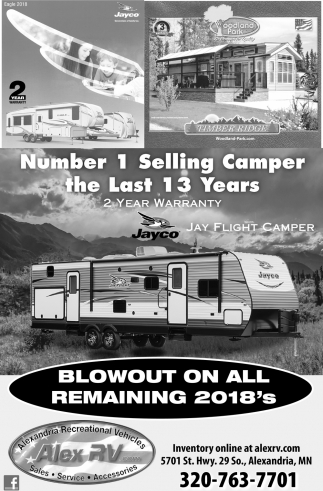 Number 1 Selling Camper the Last 13 Years
