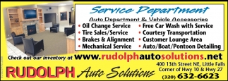 Rudolph Auto Solutions