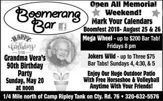 Boomerang Bar