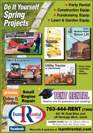 Do it yourself spring projects isanti rental isanti mn solutioingenieria Images