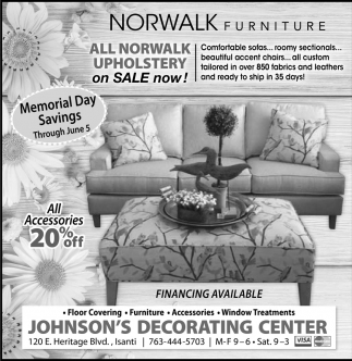 All Norwalk Upholstery On Sale Now Johnsons Decorating Center