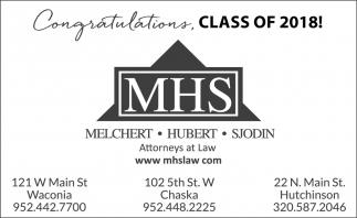 Congratulations, Class of 2018
