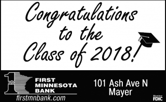 Congratulations to the Class of 2018