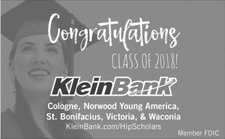 Congratulations Class of 2018!