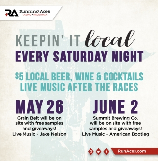 Keepin' it Local Every Saturday Night