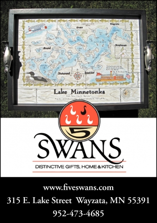 5 swans