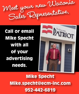 Meet Your New Waconia Sales Representative Mike Specht Waconia Mn